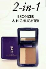 Oriflame The ONE IlluSkin Bronzing Powder, 2-in-1 Bronzer and Highlighter, New