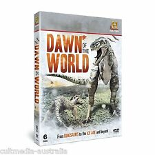 DINOSAURS DAWN OF THE WORLD HISTORY CHANNEL DOCUMENTARIES NEW 6 DVD BOXSET R4