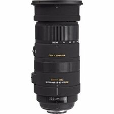 SIGMA 50-500mm F4.5-6.3 APO DG OS HSM LENS FOR SONY A MOUNT