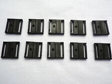 10 x SAFETY BREAK RELEASE CLIP,BAG CLASP, STRAPPING,  25mm Width