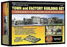 Spur N -- Bausatz Set mit 12 Häusern und 1 Fabrik - 1485 NEU