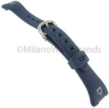 14mm Timex Ironman 30 Lap Navy Blue Ladies Replacement Watch Band TX754261T