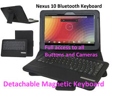 Wireless Keyboard for Nexus 10 Bluetooth Case Cover Stand *UK*