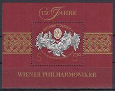 Österreich Austria 1992 ** Bl.11 Wiener Philharmoniker Musik Music [sr1090]