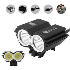 4 Modes Solar Storm 5000LM CREE XM-L T6 LED Bicycle Light with Battery + Charger