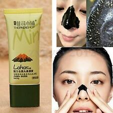50g Nose Mask Cream Black Head Remover Suction Pore Deep Cleansing Volcanic Mud