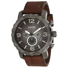 NEW Fossil Nate Men's Chronograph Watch - JR1424