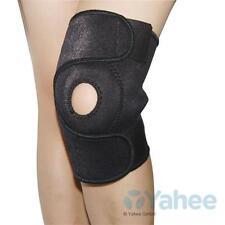 Kniestütze Kniebandage mit zwei Klettverschlüssen Schutz für Knie Bandage