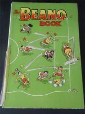 Vtg 1957 Childrens Annual THE BEANO BOOK 1957 Readable Early Copy Comic