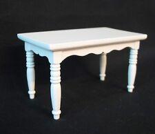 Küchentisch Esstisch Tisch Küche weiß Puppenhaus Puppenstube v23708