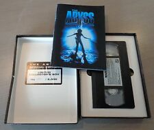 The Abyss (1989) VHS Numbered Special Collector's Edition Boxset with Booklet