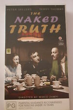 Peter Sellers The Naked Truth-CLASSIC RARE VHS PAL  'AS NEW'