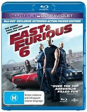 Fast & Furious 6 (Blu-ray, 2013) New and Sealed - Extended Version