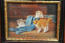 Kögl Benno genannt KatzenKögl*1882 Greding München Augsburg süße Kätzchen 6x8cm