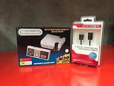 Nintendo NES Mini Console System | 2 Metre Extension Lead Included