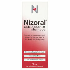 Nizoral Dandruff Shampoo Ketoconazole For Dry, Flaky, Itchy, Red Scalp -60 ml