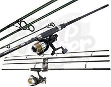 Carp Fishing Travel Rod 4 Piece 11ft 2.75lb TC With Free Spool Runner Reel NGT