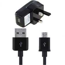"""UK USB Charger and Cable Lead for HP TouchPad 9.7 / 10.1 """" Tablet PC"""