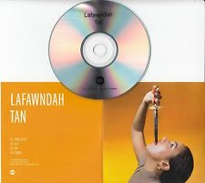 LAFAWNDAH Tan 2015 UK Warp 4-track promo test CD