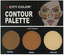 City Color CONTOUR KIT/SET PALETTE Contour Bronzer Bronze Highlighter Contouring