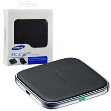 GENUINE SAMSUNG GALAXY S5 WIRELESS S CHARGER CHARGING PAD BLACK EP-PG900IBEG