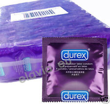 144 DUREX EMOTIONS ELITE SENSITIVE dünne Kondome Verksverpackung Wandstärke 0,04