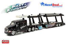 Fast and Furious 7 Peterbilt 387 Car Carrier Jada 1:64 Model Truck - Paul Walker