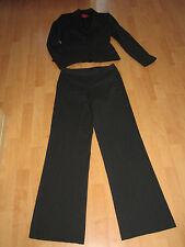 XX by MEXX Damen Anzug Blazer und Hose Nadelstreifen schwarz Bügelfalte Gr. 36