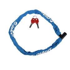 GIANT Bike Bicycle Lock Nylon Stainless Steel Anti-theft Cable Lock 850mm Blue