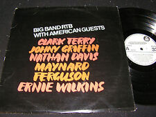 BIG BAND RTB WITH AMERICAN GUESTS Clark Terry.../ 80s  Yugoslavia LP RTB 2121719