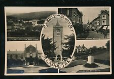 Wales Cardiganshire LAMPETER M/view Used 1934 RP PPC