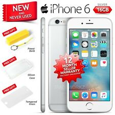 New in Sealed Box Factory Unlocked APPLE iPhone 6 Silver 16GB 4G Smartphone
