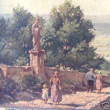 Impressionismus Ölgemälde Marienberg Würzburg Main Unterfranken sig. Richter ~50