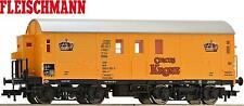 """Fleischmann H0 539502 Pferdetransportwagen """"Circus Krone"""" der DB - NEU + OVP"""