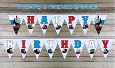 Thomas the Tank Engine Happy Birthday Bunting Party Decoration Children Favours
