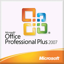 Microsoft Office Professional Plus 2007 Key and Download & Product Code/Key