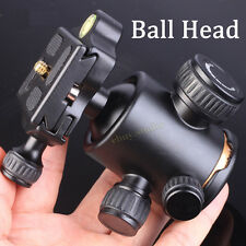 Ball Head Quick Release Plate For Camera Tripod Monopod Manfrotto Velbon Benro!!