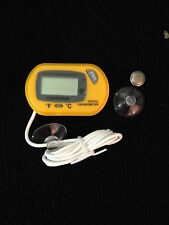 AQUARIUM~FISH TANK~REPTILE~PETS~TERRARIUM~DIGITAL THERMOMETER~TEMPERATURE GAUGE~