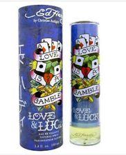 Love & Luck Ed Hardy 100ml EDT  Spray By Christian Audigier Men's Perfume