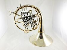 Finke 61 Bb/A High F Descant French Horn in Gold Brass w/Case