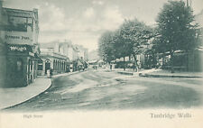 Kent TUNBRIDGE WELLS High Street  vintage PPC