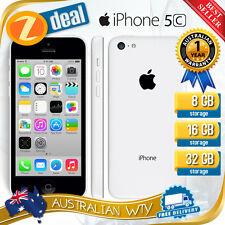 (NEW SEALED BOX) APPLE iPHONE 5C 32GB WHITE 100% UNLOCKED + 12MTH AUS WTY
