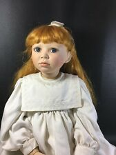 "Christine Orange 32"" tall Lydia Porcelain Doll Elite Collection Ltd Ed.44/1000"