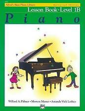 Alfred's Basic Piano Library Lesson Book, Bk 1b: Book by Willard Palmer,...
