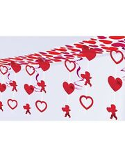 HEARTS AND CUPIDS HANGING CEILING DECORATION SWIRLS VALENTINES ENGAGEMENT  PARTY