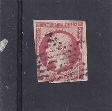 FRANCE 1853 PERIOD NAPOLEON III EMPIRE 80 CENT RED 3.5 MARGINS SG.70 NICE USED