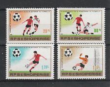 v226 Albanien / Fussball-WM 1982   MiNr 2080/83 **