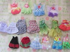lot barbie sister Kelly doll clothes  5 small dresses NEW 1
