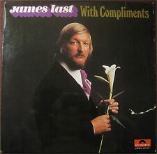 James Last, With Compliments, G/VG+  LP (8055)