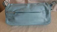 Damen Shopper blau Handtasche Damentasche Umhänge Tasche